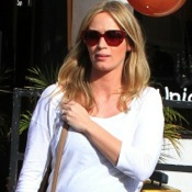 Emily Blunt Shops for Baby in West Hollywood