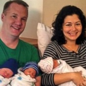 Two Sisters Deliver Twin Quadruplets Same Day