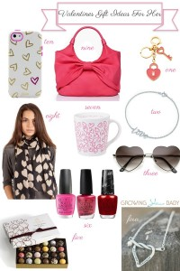 10 Valentines Gift Ideas For her