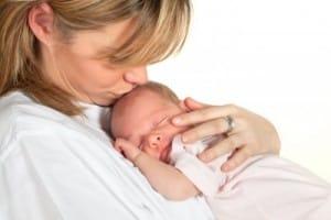 newborn baby mom