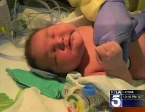 15.2lb baby Andrew Jacob Cervantez