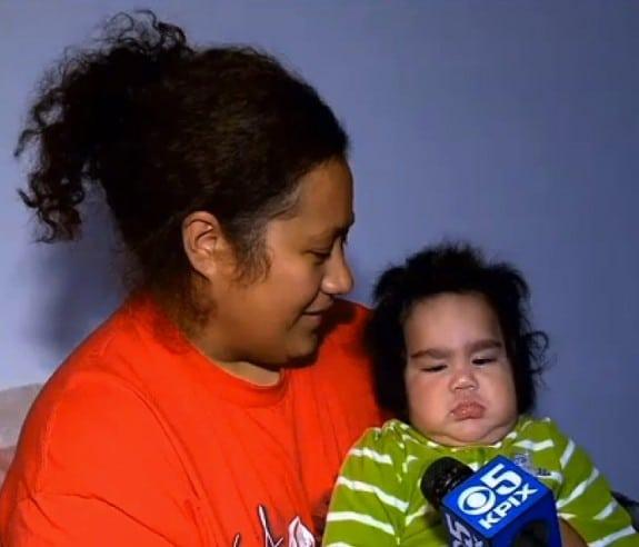 16 POUND BABY Sammisano Joshua Talai Otuhiva with mom Sosefina Tagalu