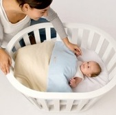 Miniguum ~ Portable, Modern Bassinet That Grows With Your Family