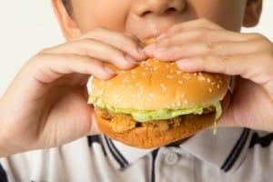 child junk food