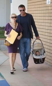 Naomi Watts and Liev Schreiber with son Alexander