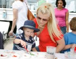 Alison Sweeney with son Ben