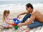 Antonio Sabato Jr with daughter Mina