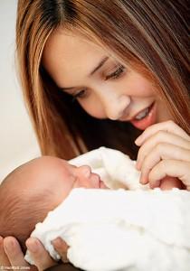 Myleen Klass with Daughter Ava Quinn
