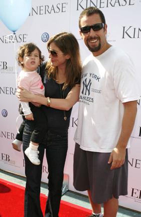 Adam Sandler and wife ...