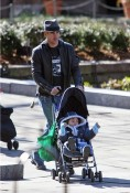 Colin Farrell with son James