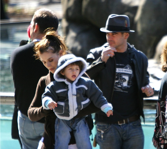 Colin Farrell With Son James Growing Your Baby