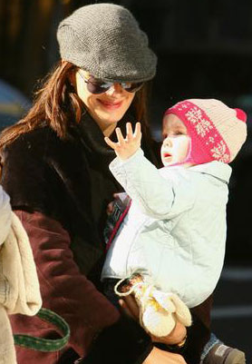 Brooke Shields with daughter Grier 2007