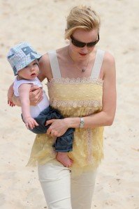 Naomi Watts and son Alexander in Australia