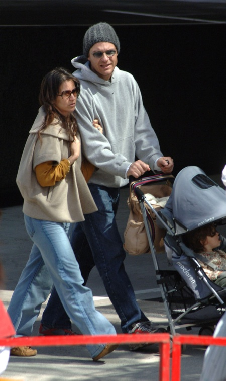 **EXCLUSIVE** Jason Bateman enjoys a family day out at the Studio City Farmer's market, Los Angeles