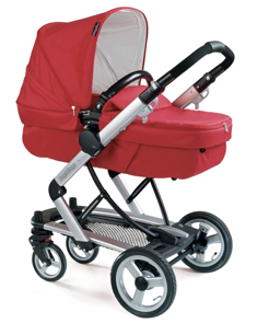 Peg Perego Skate in bassinet mode