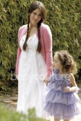 Soleil Moon Frye with daughter Poet