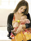 Soleil Moon Frye with daughter Jagger