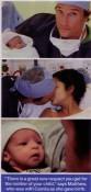 The New Parents:  Matthew, Camila and Newborn Levi