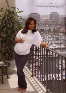 Laila in pregnancy Magazine