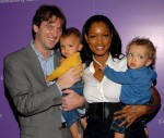 Garcelle Beauvais with Jaid and Jax