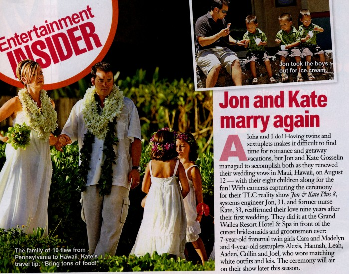 More Jon and Kate in Hawaii