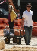 Gavin Rossdale and son Kingston at Mr