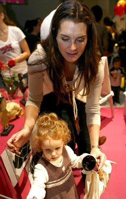 Brooke Shields With Daughter Grier Growing Your Baby