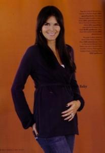 Angie Harmon Pregnancy Magazine