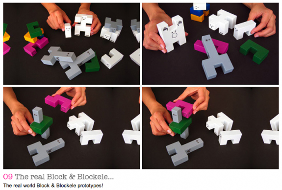 Cool Building Concept  Block & Blockele