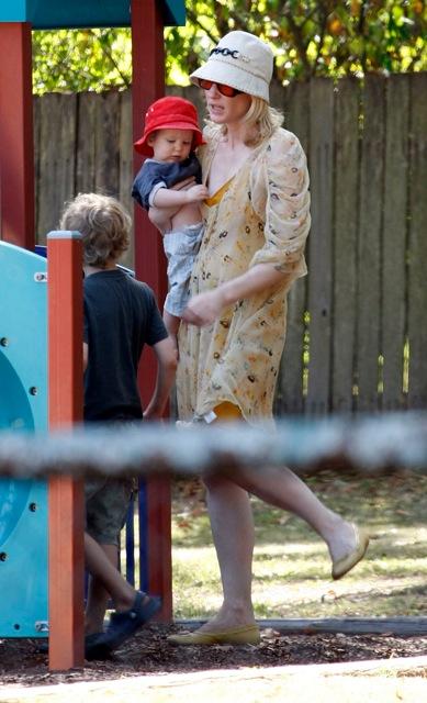 Cate Blanchett and Family In Australia
