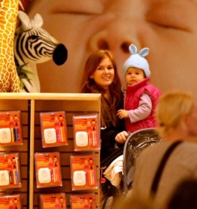 Isla and Olive At FAO Schwartz