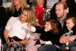 Tim Hasselbeck with Grace and Taylor at QVC Fashion Show
