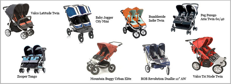 Double Strollers Plus Car Seat