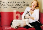 Kelly Rutherford and Hermes Get The Cover Of Baby Couture