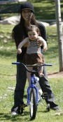 Soleil Moon Frye Enjoys A Day At The Park With Her Girls