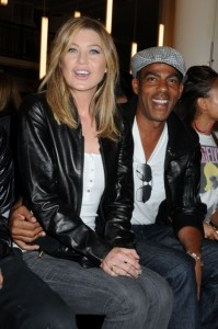Ellen Pompeo and Chris Ivery join other celebrity guests at the Y-3 Spring 2009 Fashion Show
