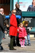 heidi klum seal and kids 130409