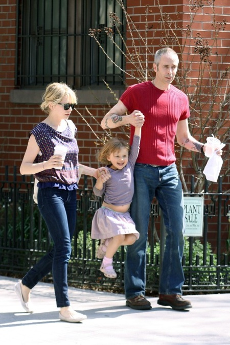 Michelle Williams and daughter Matilda Ledger in Brooklyn