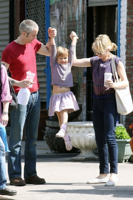 Michelle Williams & daughter Matilda Ledger in Brooklyn