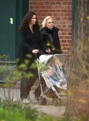 Minnie Driver strolls with her son Henry in NYC