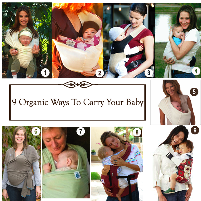 9 Organic Ways To Carry Your Baby
