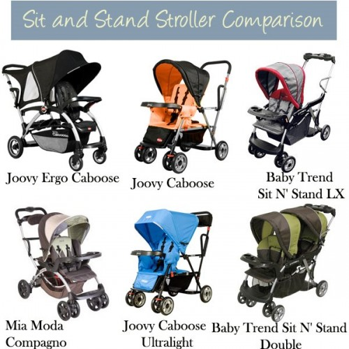 Stroller Comparison Sit And Stand Strollers