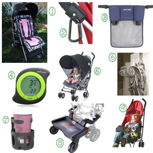 Pimp Your Stroller: 9 Must-Have Stroller Accessories : Growing ...