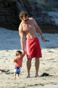 Matthew McConaughey with son Levi
