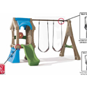 RECALL:Outdoor Play Sets by Step2® Due to Fall Hazard; Swings Can Break