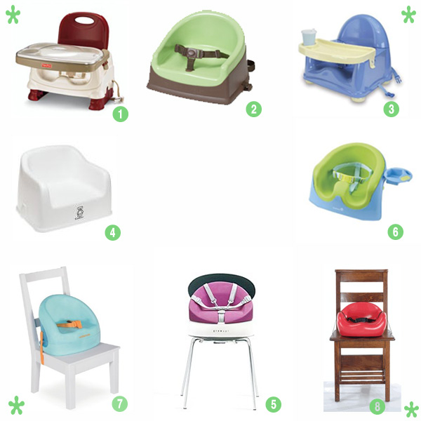 Kids Booster Seat That Attaches To Kitchen Chair