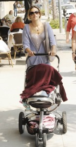 Alessandra Ambrosio Strolls With Anja In Beverly Hills