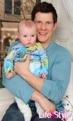 Eric Mabius and Rylan Jaxson