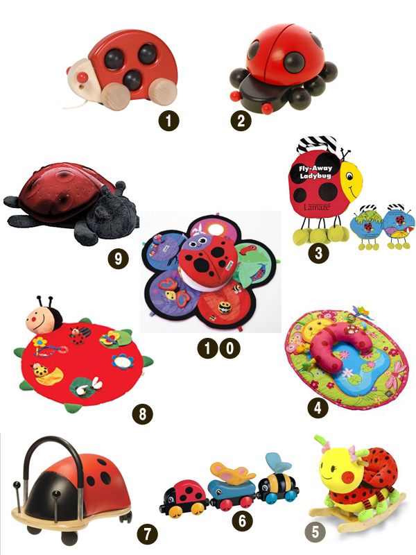 We have put together a collection of adorable ladybugs that will hopefully