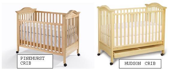 RECALL: LaJobi Babi Italia Pinehurst And Bonavita Hudson Cribs; Risk Of  Entrapment And Suffocation
